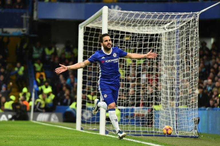 """""""We have character. We can bounce back at anything that comes in front of us,"""" said Chelsea's Spanish midfielder Cesc Fabregas"""