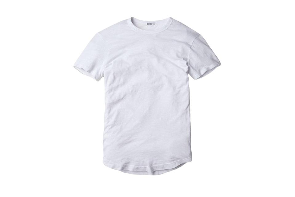 """<p>There's only so much you can do to a T-shirt to take it from normal to exemplary, mainly fit and fabric. And Buck Mason is dedicated to both.</p> <p><em>Buck Mason crew neck slub T-shirt</em></p> $35, Buck Mason. <a href=""""https://www.buckmason.com/singles/white-crew-neck-tee"""" rel=""""nofollow noopener"""" target=""""_blank"""" data-ylk=""""slk:Get it now!"""" class=""""link rapid-noclick-resp"""">Get it now!</a>"""