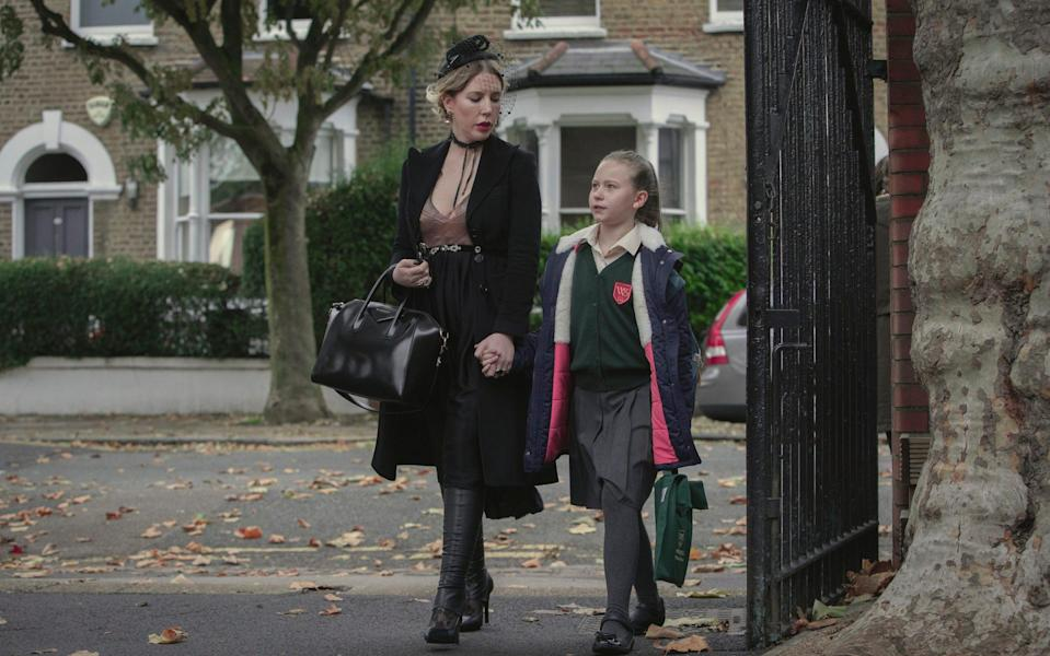 Katherine Ryan and Kate Byrne in The Duchess - Netflix