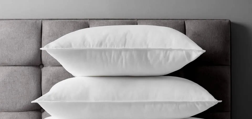 Soft Touch Washable Standard Pillow (John Lewis & Partners)