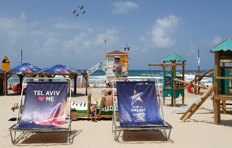 Tel Aviv, Israel's economic and cultural centre, likes to boast of its beaches, vibrant nightlife, ancient quarters and rich culinary and cultural scene (AFP Photo/JACK GUEZ)