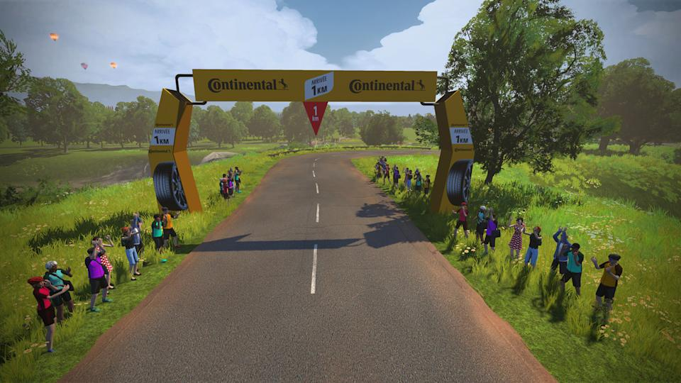 Zwift Tour de France Stage 3
