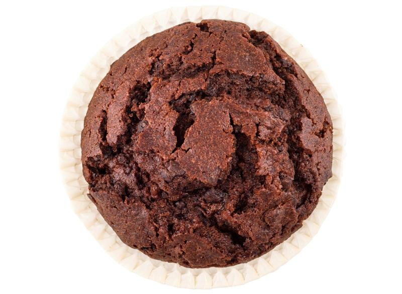 Double chocolate muffin top
