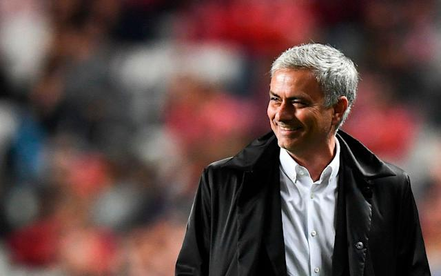 Jose Mourinho and Manchester United have helped the Premier League stay unbeaten through the first half of this year's Champions League group stage. (The Telegraph)
