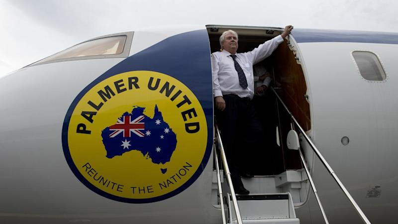 Clive Palmer's troubled nickel refinery could be liable for debts owed by his aviation business.