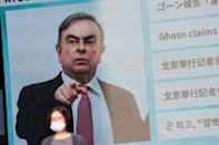 Ghosn remains at large in Lebanon, where he fled after jumping bail in Japan in December 2019
