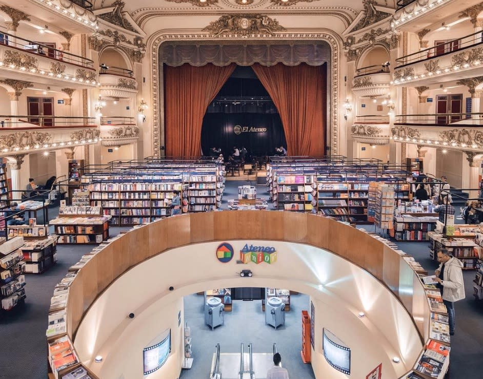 This theater-turned-bookstore is our next travel destination