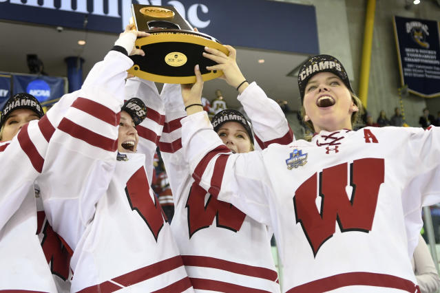 Best sport: women's hockey (national champion). Trajectory: steady. Even with football suffering a disappointing season, the Badgers had a great fall, performing well in volleyball, women's soccer and both men's and women's cross country. They also won their first women's hockey title since 2011 and had their best finish in men's indoor track (fourth) since 2013. Wisconsin will miss graduated distance runner Morgan McDonald, a 2018-19 NCAA champion in cross country, indoor track and outdoor track.