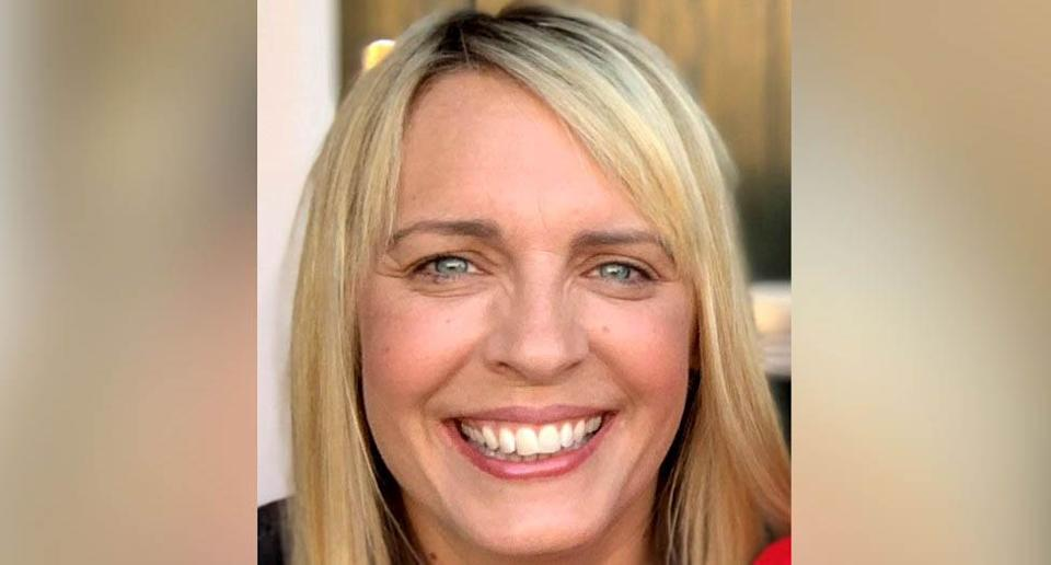 A photo of Lisa Shaw who died as a result of complications from the AstraZeneca coronavirus vaccine. Source: AAP