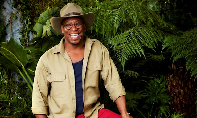 Ian Wright is really scared of spiders (Credit: ITV)