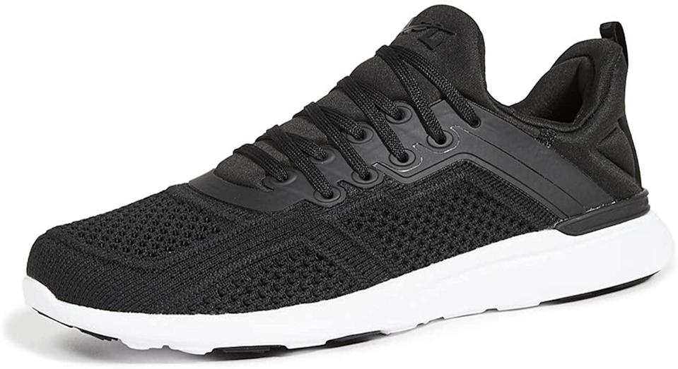 <p>These new <span>APL Techloom Tracer Sneakers</span> ($230) were made for running and training. As athletes who like to do it all, having one sneaker for multiple activities is ideal.</p>