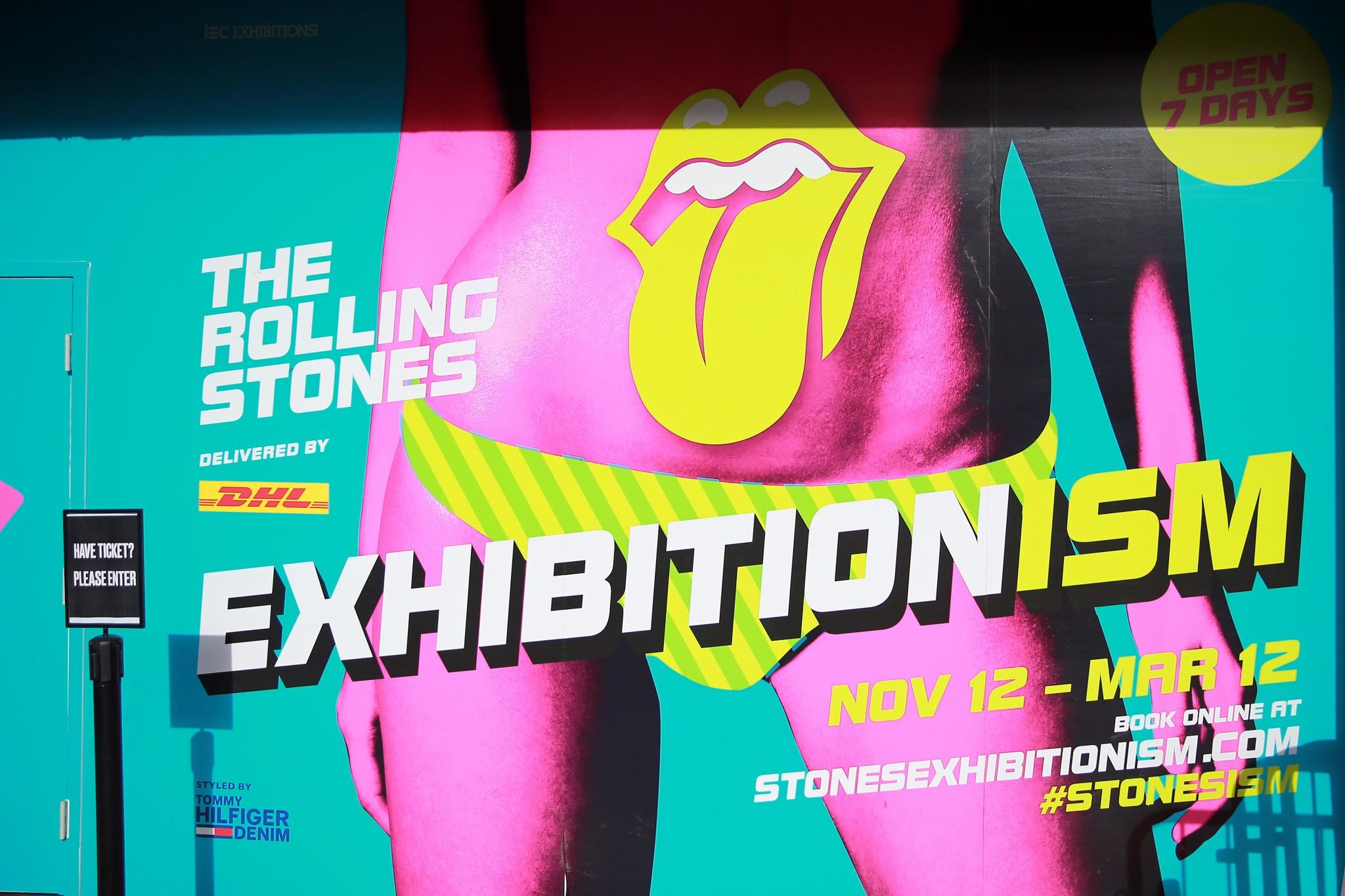 Exhibitionism is the largest touring experience of its kind ever to be staged, and the first time in history the band has unlocked their vast private archive. Exhibitionism will run in New York through March 12, 2017. (Gordon Donovan/Yahoo News)
