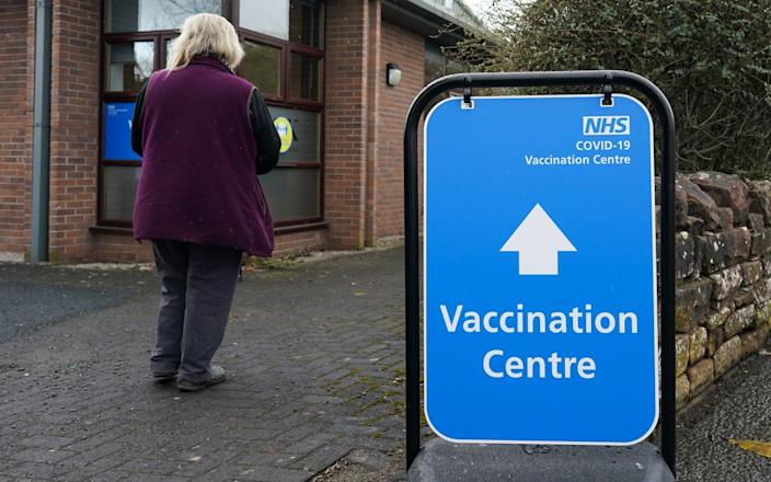 The ONS analysed data from the National Immunisation Management Service on people over 50 between Dec 8 and April 12, linking it to their NHS numbers - Ian Forsyth/Getty Images Europe