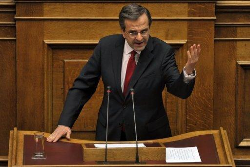 New Greek government wins confidence vote