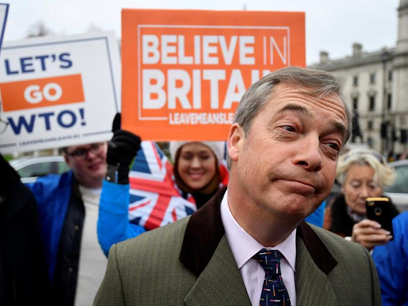 Brexit news: Nigel Farage accused of hypocrisy after claiming Article 50 petition signatures are 'coming from Russia'