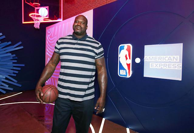 """Shaquille O'Neal announced a new Facebook reality show, """"Big Chicken Shaq,"""" on Wednesday that will follow him as he opens a Las Vegas restaurant. (Getty Images)"""