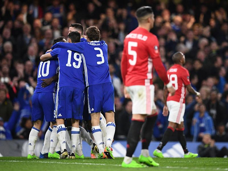 Chelsea have already beaten United twice this season (Getty)