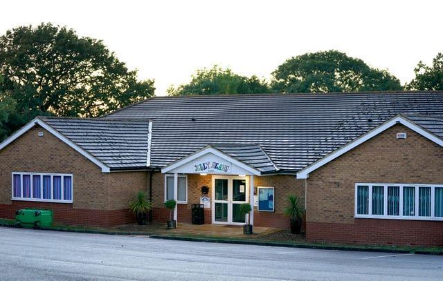 A view of Jelly Beans day nursery in Ashford, Kent, which has been closed after a child died following a medical emergency