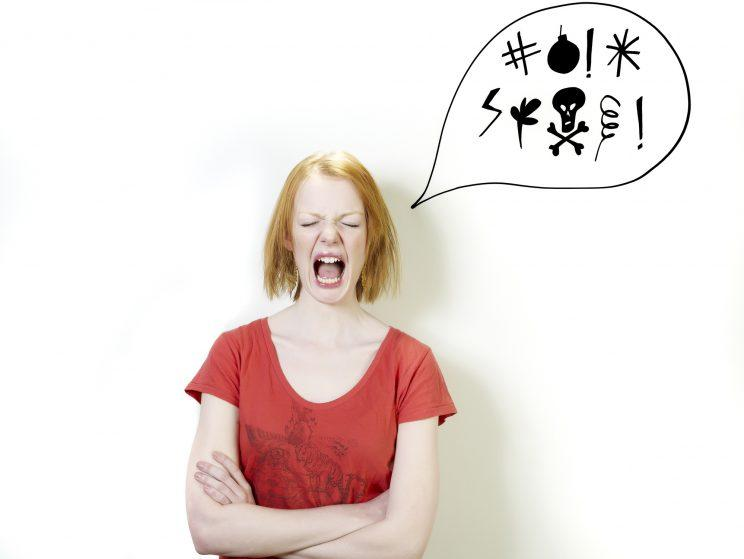 Should we be more relaxed about swearing in front of our children? [Photo: Getty]