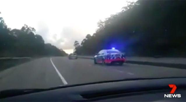 Police say drivers should be driving safely to avoid a penalty notice. Photo: 7 News