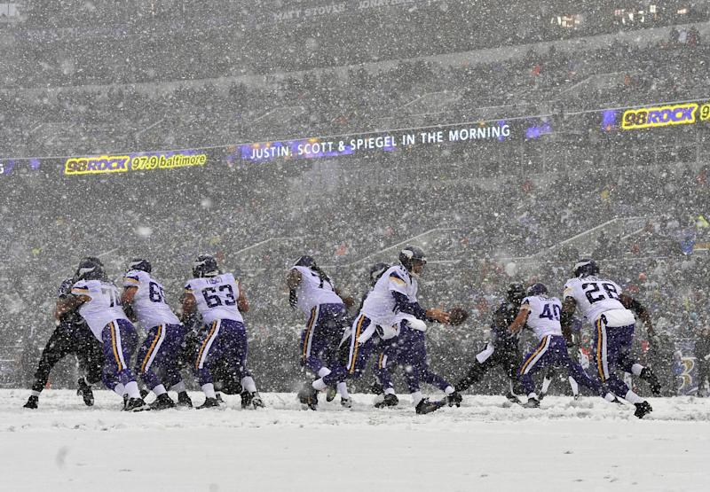 Vikings lose to Ravens 29-26, without Peterson