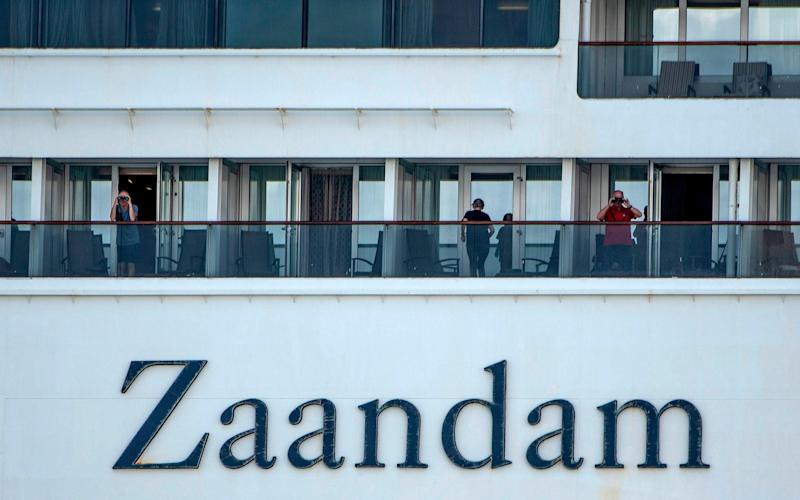 A British national is among four people to have died on the Zaandam - AFP