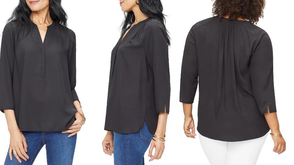 Curves 360 By NYDJ Perfect Blouse - Nordstrom, $53.40 (originally $89)