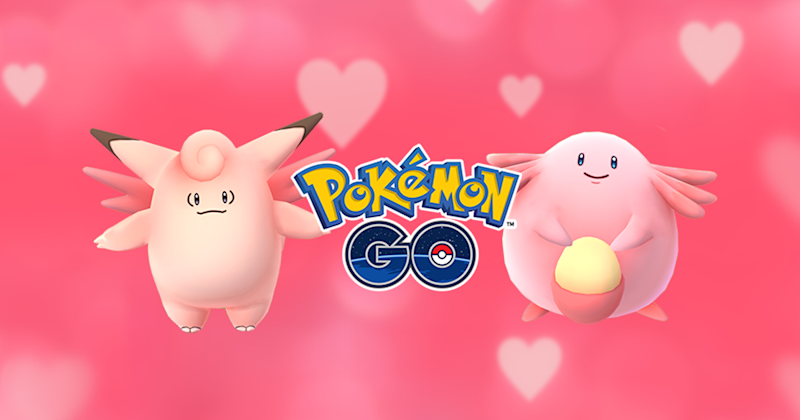 Pokemon GO Hosting An In-Game Valentine's Day Event