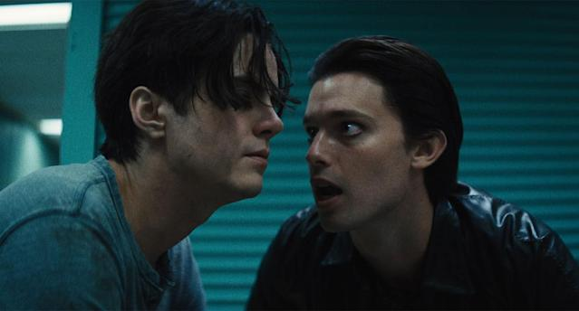Miles Robbins and Patrick Schwarzenegger in <i>Daniel Isn't Real</i> (Arrow Films)