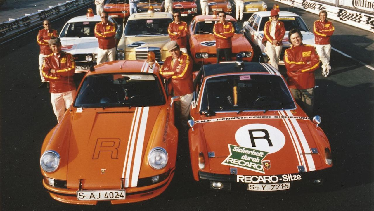 <p>Here's the car next to a 1973 Porsche Carrera RSR 2.8, which competed in the series that year. </p>