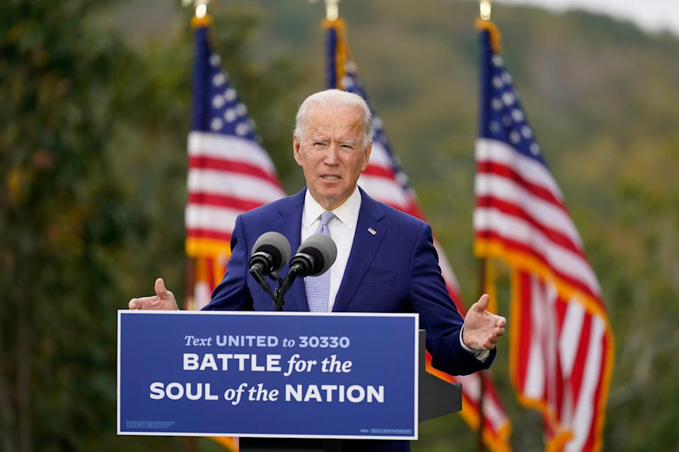<p>On his first day Mr Biden is set to send an immigration bill to Congress.</p> (AP)