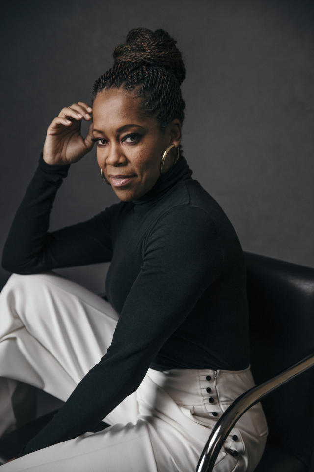 "This Feb. 13, 2019 photo shows actress Regina King, nominated for an Oscar for best supporting actress for her role in ""If Beale Street Could Talk,"" posing for a portrait at Sofitel in New York. (Photo by Victoria Will/Invision/AP)"