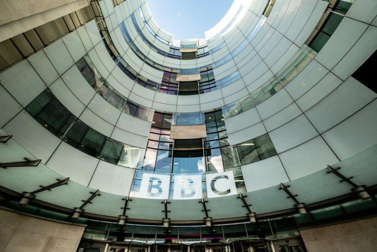 BBC headquarters at Portland House
