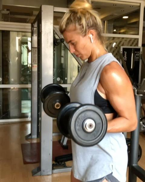 """<p>We all start somewhere, even the people who look like they've been exercising since day dot. And, while GA is one of the fittest celebs out there, she wasn't always as strong as she is now. </p><p>'The first time I walked into a gym I was clueless. Now, it's 2nd nature to me and part of my daily routine when travelling,' she wrote on Instagram, sharing one of her on the go workouts. </p><p><strong>RELATED: </strong>Everything you need to know about <a href=""""https://www.womenshealthmag.com/uk/fitness/fat-loss/a25219004/exercise-for-beginners/"""" rel=""""nofollow noopener"""" target=""""_blank"""" data-ylk=""""slk:exercise for beginners"""" class=""""link rapid-noclick-resp"""">exercise for beginners</a></p><p><a href=""""https://www.instagram.com/p/CI0DM9THVBK/"""" rel=""""nofollow noopener"""" target=""""_blank"""" data-ylk=""""slk:See the original post on Instagram"""" class=""""link rapid-noclick-resp"""">See the original post on Instagram</a></p>"""