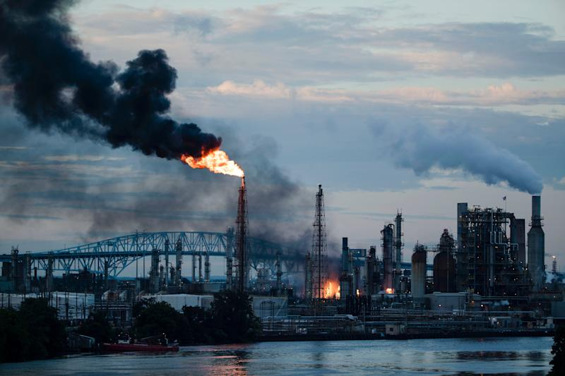 How will the Philidelphia oil refinery fire affect gas prices?