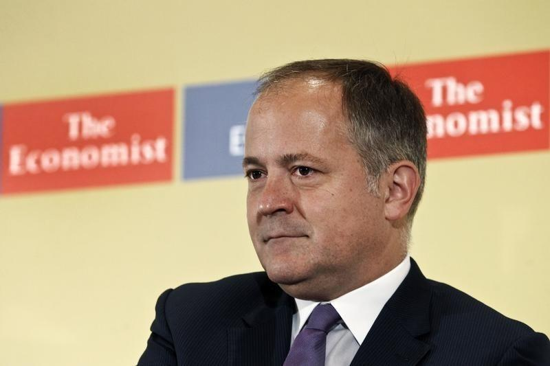 """European Central Bank board member Coeure attends the Economist Conference on """" The big rethink for Europe, the big turning point for Greece"""" in Athens"""