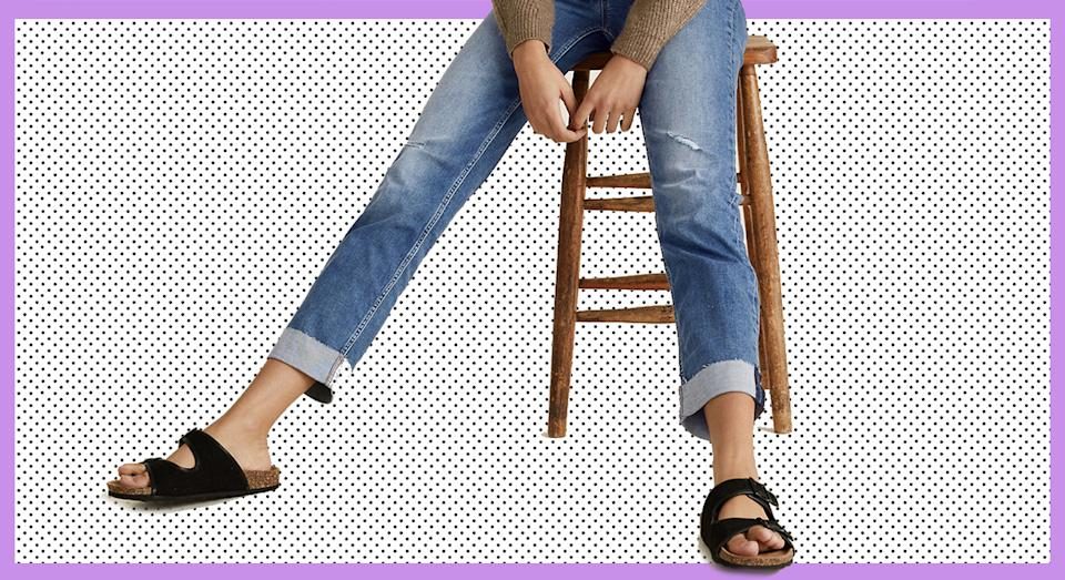 Marks and Spencer launched new cigarette jeans as part of its Spring collection, and we predict they will sell out fast again. (Marks & Spencer/ Yahoo Style UK)