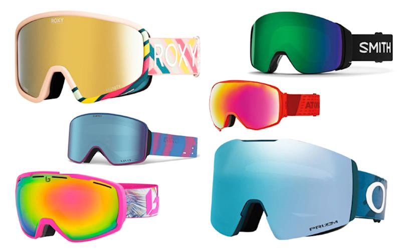 For clear vision in all mountain conditions, ski goggles are well worth the investment