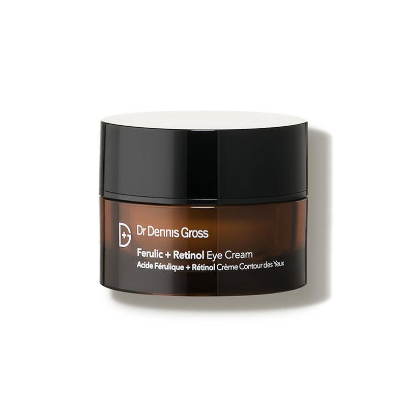 """<p><strong>Dr. Dennis Gross Skincare</strong></p><p>dermstore.com</p><p><strong>$69.00</strong></p><p><a href=""""https://go.redirectingat.com?id=74968X1596630&url=http%3A%2F%2Fwww.dermstore.com%2Fproduct_Ferulic%2BRetinol%2BEye%2BCream_60619.htm&sref=https%3A%2F%2Fwww.womenshealthmag.com%2Fbeauty%2Fg30852512%2Fbest-retinol-eye-cream%2F"""" rel=""""nofollow noopener"""" target=""""_blank"""" data-ylk=""""slk:Shop Now"""" class=""""link rapid-noclick-resp"""">Shop Now</a></p><p>Ferulic acid—an antioxidant found in plants—pairs with retinol in this cream to help protect against sun and environmental damage that can cause fine lines. It also uses a blend of acids and collagen to help brighten and lighten dark spots. </p>"""