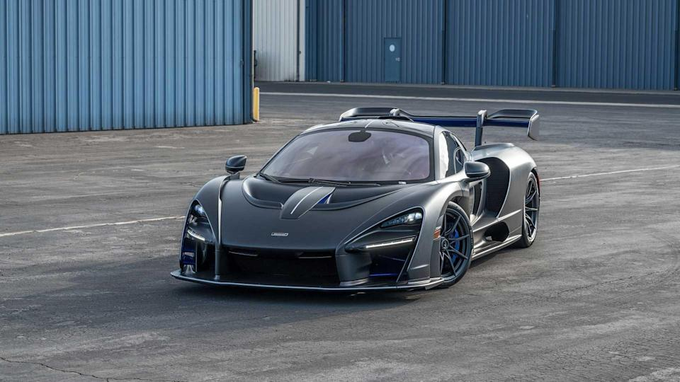 McLaren Senna With $360,000 Just In Options Could Be Yours