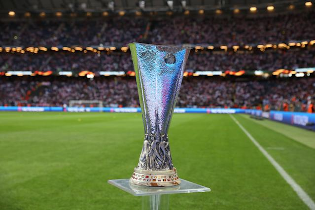 Europa League Pokal Trophy