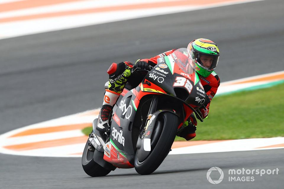 "Lorenzo Savadori, Aprilia Racing Team Gresini<span class=""copyright"">Gold and Goose / Motorsport Images</span>"