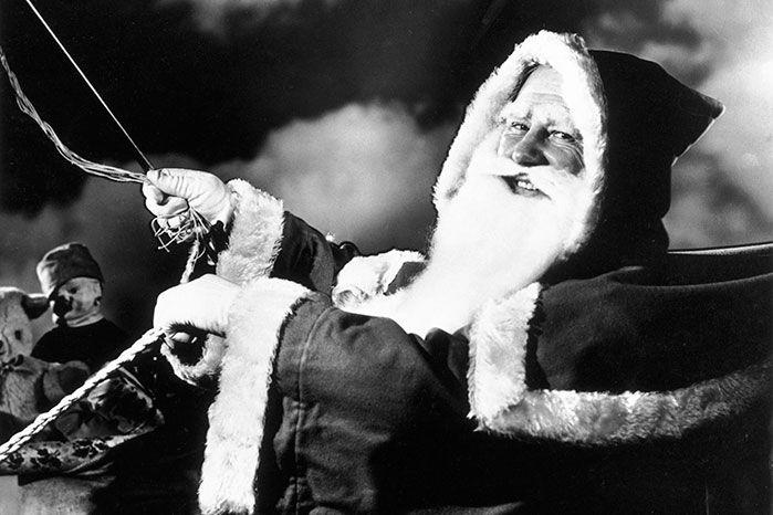 Santa Claus has delivered presents to kids around the world for many years. He doesn't seemed phased by the pressure. Image: Getty