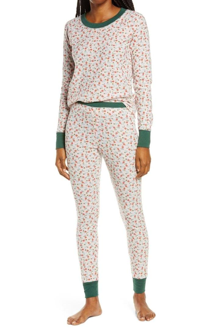 <p>Get them in the holiday spirit with the <span>BP. Thermal Pajamas</span> ($45).</p>