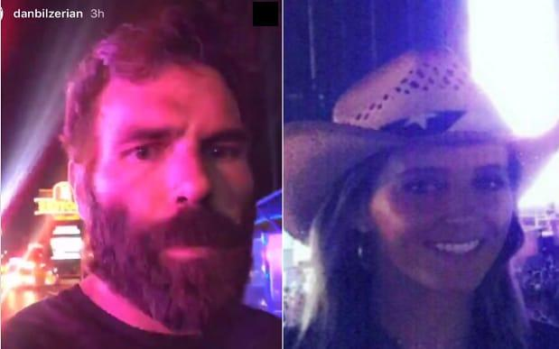 Las Vegas shooting: Dan Bilzerian and British tennis star Laura Robson are safe after being caught up in the attack  - Twitter