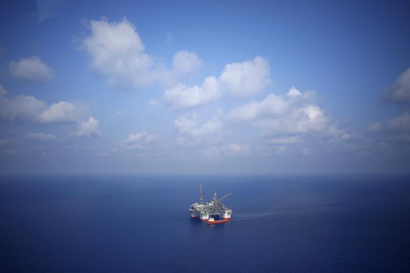 A Chevron Corp. oil-drilling platform in the Gulf of Mexico. (Bloomberg via Getty Images)