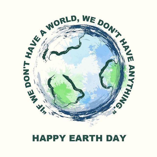 """<p>Mr. Worldwide said it best in his Earth Day post: """"if we don't have a world, we don't have anything.""""</p>"""