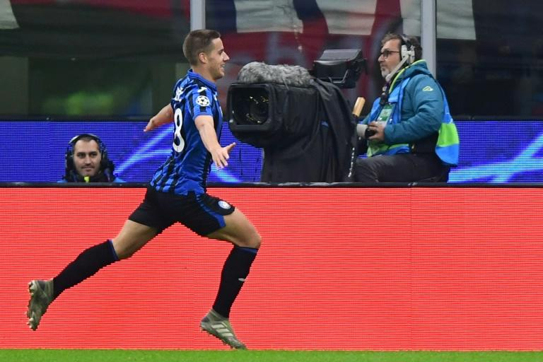 Substitute Mario Pasalic scored within seconds of coming on for Atalanta