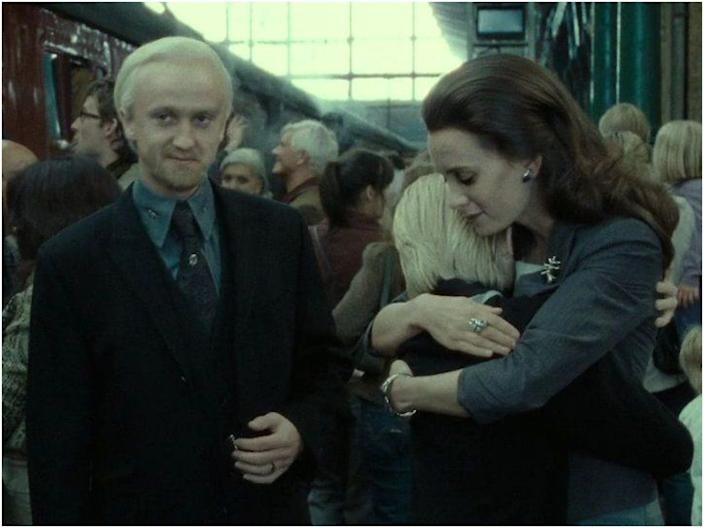 Draco Malfoy epilogue wife and girlfriend