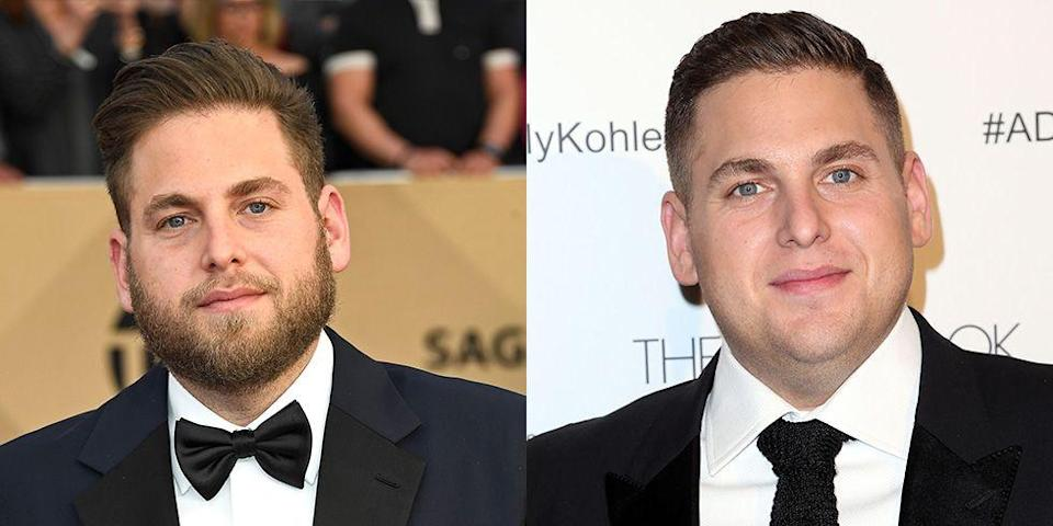 <p><strong>Signature: </strong>Full beard </p><p><strong>Without Signature: </strong>At a 2014 awards show rocking a freshly shaven face. </p>